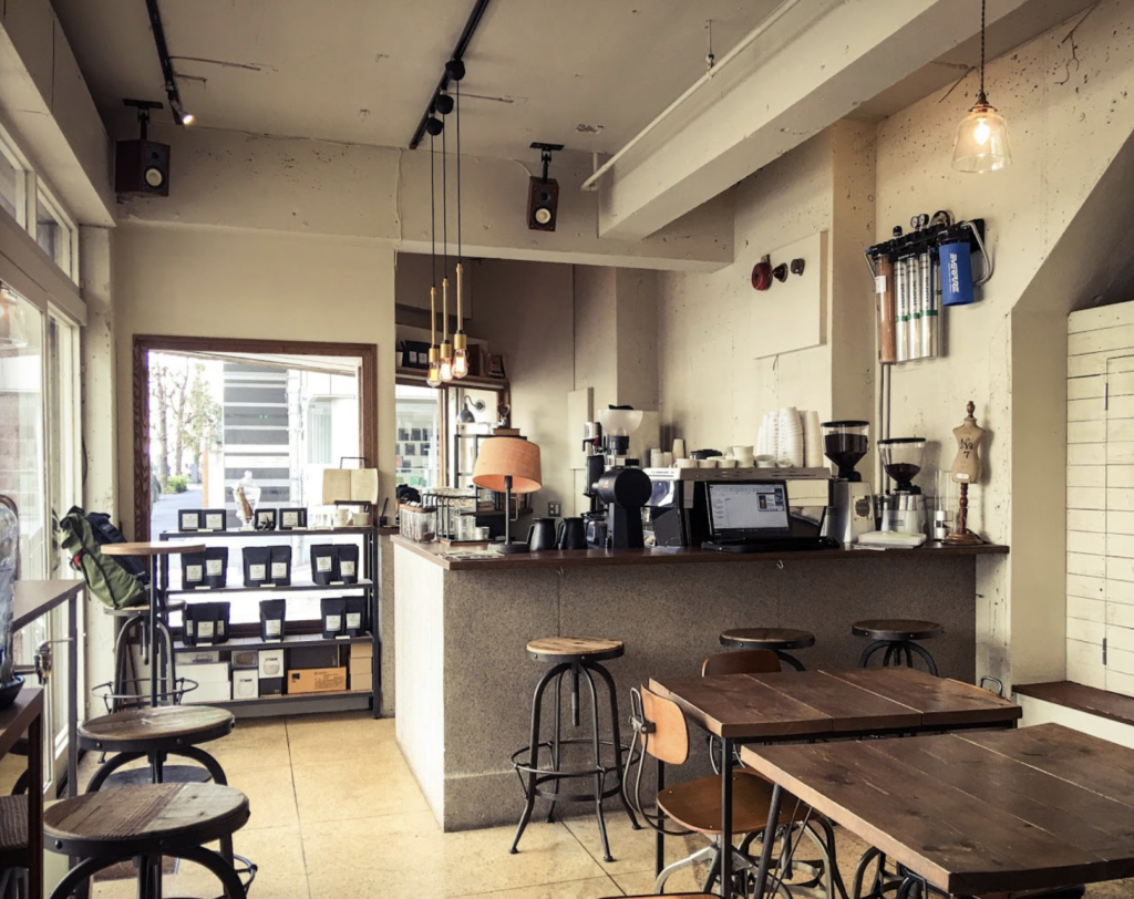 Glitch Coffee and Roasters 神保町 コーヒー