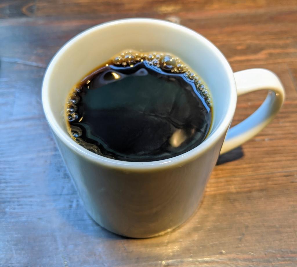 [BLESS COFFEE 京橋店] オリジナルブレンド〜森を増やすレインフォレストコーヒー〜