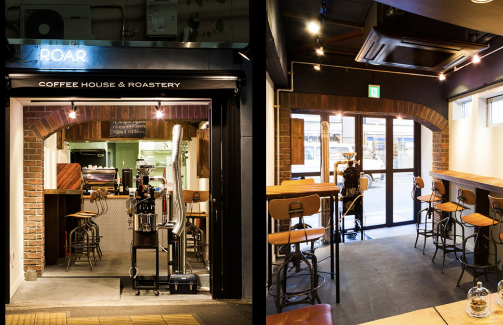 ROAR COFFEEHOUSE & ROASTERY 八丁堀 コーヒー