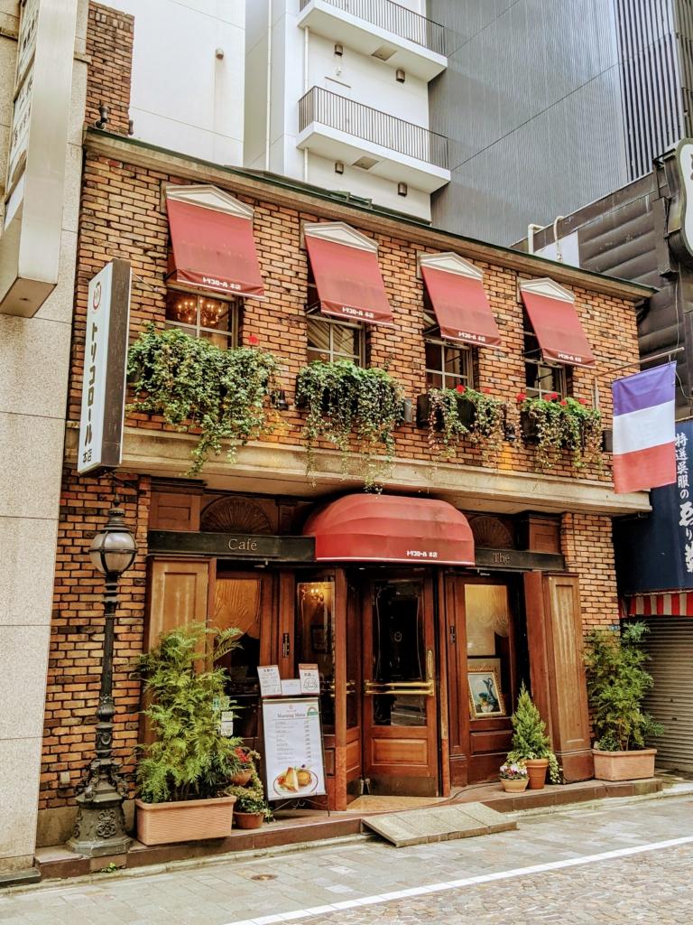 [カフェ巡り]回転ドアがインスタ映えな銀座トリコロール 本店
