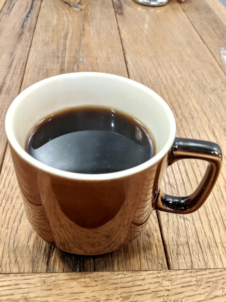 上野、御徒町のエッグベイビーサンド[egg baby cafe] HOT  COFFEE