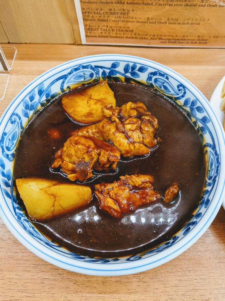 デリー上野店の極辛口カシミールカレーは癖になる美味しさ カシミールカレー
