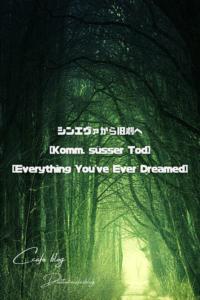 シンエヴァから旧劇へ[Komm, süsser Tod ][Everything You've Ever Dreamed]